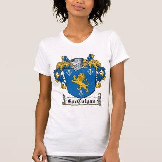Escudo de la familia de MacColgan Camiseta