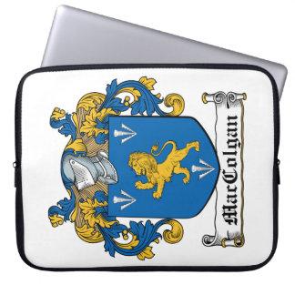 Escudo de la familia de MacColgan Funda Computadora