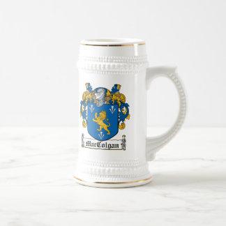 Escudo de la familia de MacColgan Jarra De Cerveza