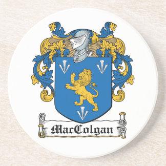 Escudo de la familia de MacColgan Posavasos Personalizados