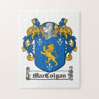 Escudo de la familia de MacColgan Rompecabezas Con Fotos