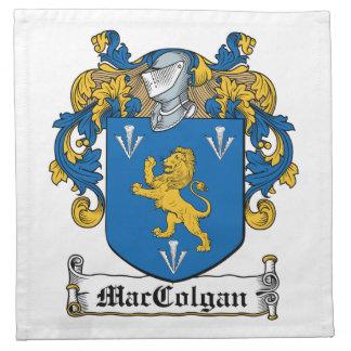 Escudo de la familia de MacColgan Servilletas De Papel