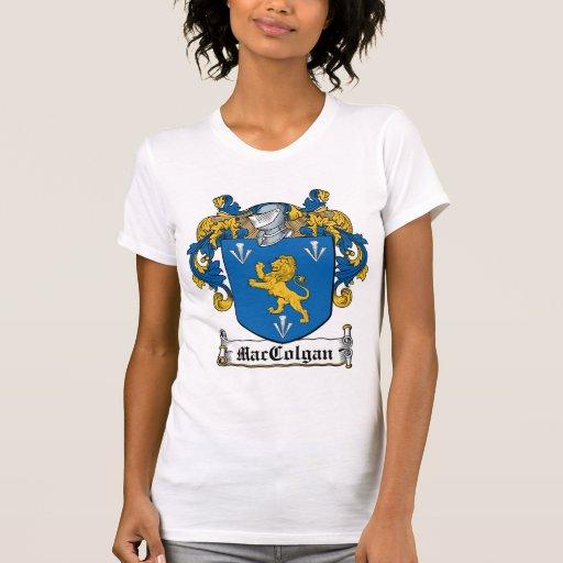 Escudo de la familia de MacColgan T-shirts