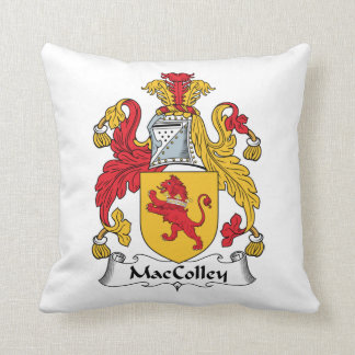 Escudo de la familia de MacColley Almohadas