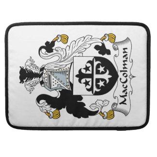 Escudo de la familia de MacColman Funda Para Macbook Pro