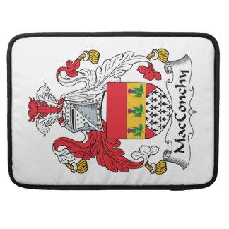 Escudo de la familia de MacConchy Fundas Macbook Pro