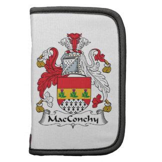 Escudo de la familia de MacConchy Planificadores