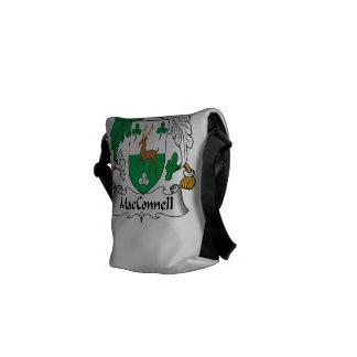 Escudo de la familia de MacConnell Bolsas De Mensajería