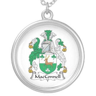 Escudo de la familia de MacConnell Colgante Redondo