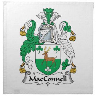 Escudo de la familia de MacConnell Servilletas
