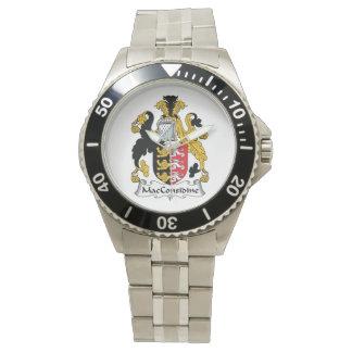 Escudo de la familia de MacConsidine Relojes De Pulsera