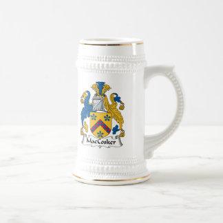 Escudo de la familia de MacCosker Jarra De Cerveza