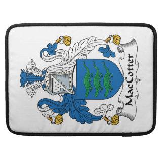 Escudo de la familia de MacCotter Funda Para Macbooks
