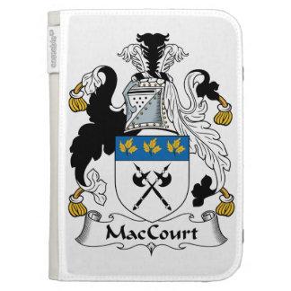 Escudo de la familia de MacCourt