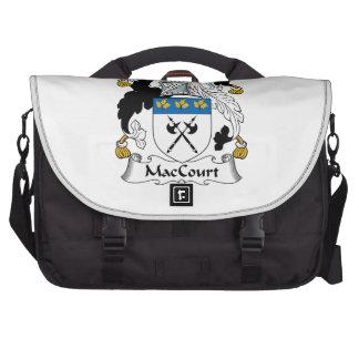 Escudo de la familia de MacCourt Bolsa De Ordenador