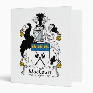 "Escudo de la familia de MacCourt Carpeta 1"""