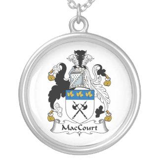 Escudo de la familia de MacCourt Colgante Redondo