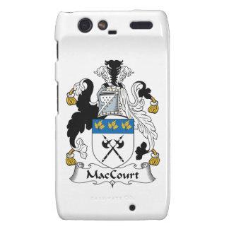 Escudo de la familia de MacCourt Motorola Droid RAZR Carcasa