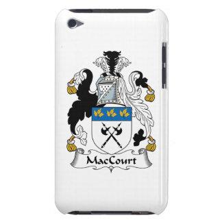 Escudo de la familia de MacCourt Case-Mate iPod Touch Protectores