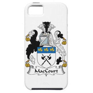 Escudo de la familia de MacCourt iPhone 5 Carcasas