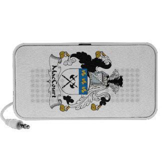 Escudo de la familia de MacCourt iPhone Altavoces