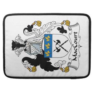 Escudo de la familia de MacCourt Fundas Para Macbooks