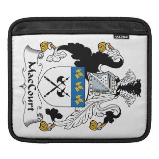 Escudo de la familia de MacCourt Mangas De iPad