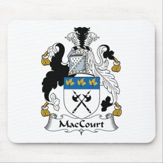 Escudo de la familia de MacCourt Tapetes De Ratón