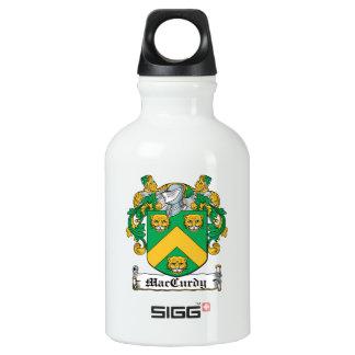Escudo de la familia de MacCurdy Botella De Agua