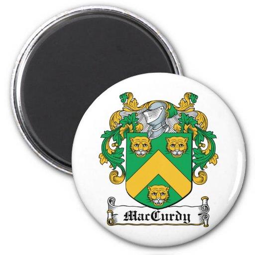 Escudo de la familia de MacCurdy Imán