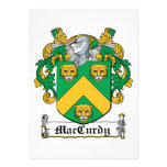 Escudo de la familia de MacCurdy Anuncios Personalizados