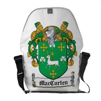 Escudo de la familia de MacCurten Bolsas Messenger