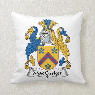 Escudo de la familia de MacCusker Cojín