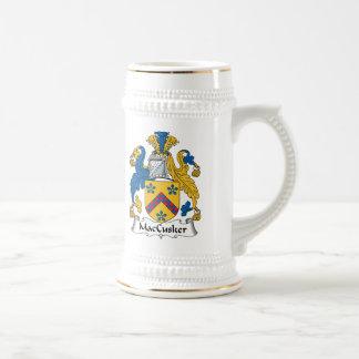 Escudo de la familia de MacCusker Jarra De Cerveza