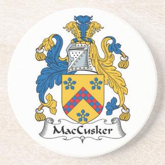 Escudo de la familia de MacCusker Posavasos Manualidades