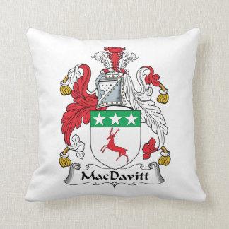 Escudo de la familia de MacDavitt Almohadas