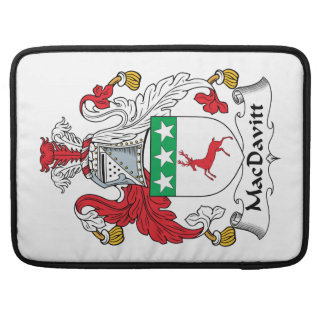 Escudo de la familia de MacDavitt Fundas Macbook Pro