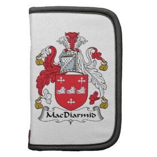 Escudo de la familia de MacDiarmid Organizador