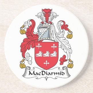 Escudo de la familia de MacDiarmid Posavasos Para Bebidas