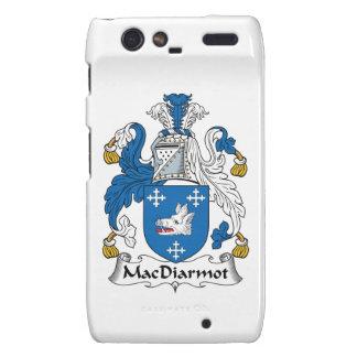 Escudo de la familia de MacDiarmot Motorola Droid RAZR Carcasa