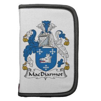 Escudo de la familia de MacDiarmot Organizadores