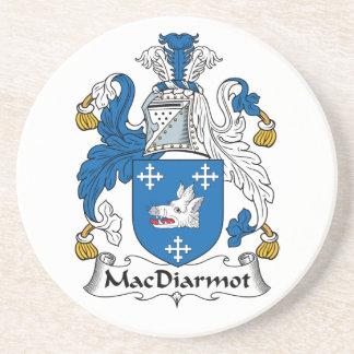 Escudo de la familia de MacDiarmot Posavasos Para Bebidas