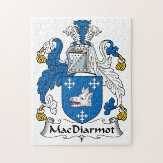 Escudo de la familia de MacDiarmot Rompecabezas Con Fotos