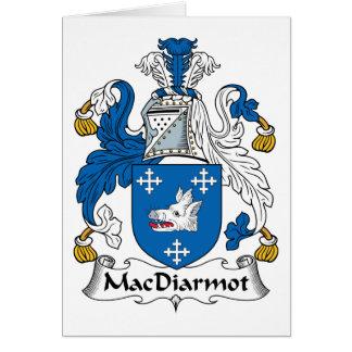 Escudo de la familia de MacDiarmot Tarjetas