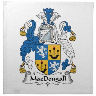 Escudo de la familia de MacDougall Servilletas De Papel