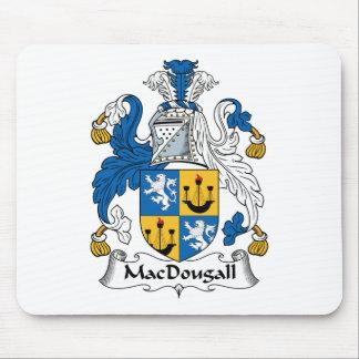 Escudo de la familia de MacDougall Tapete De Ratones