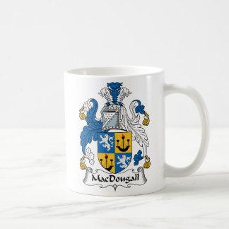 Escudo de la familia de MacDougall Taza Clásica
