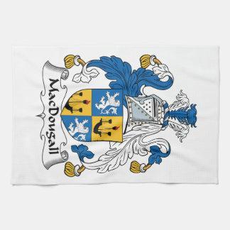 Escudo de la familia de MacDougall Toalla