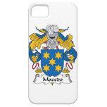 Escudo de la familia de Macedo iPhone 5 Case-Mate Cobertura