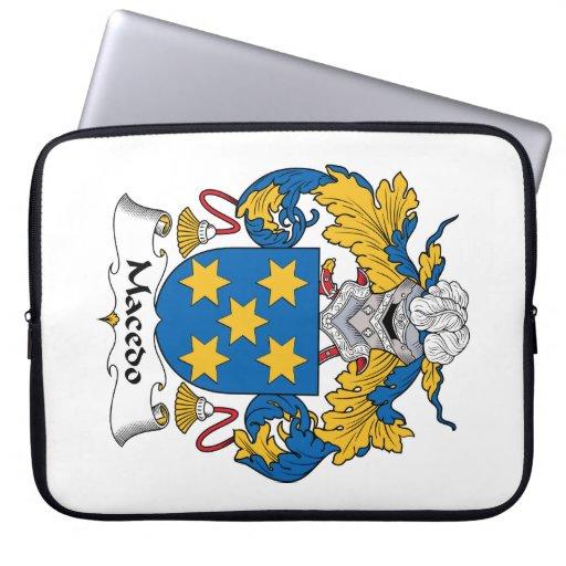 Escudo de la familia de Macedo Funda Ordendadores